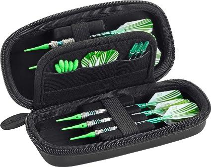 Dart Case Box Wallet Pockets Holder Aufbewahrungstasche Durable Darts Zubehör Hi