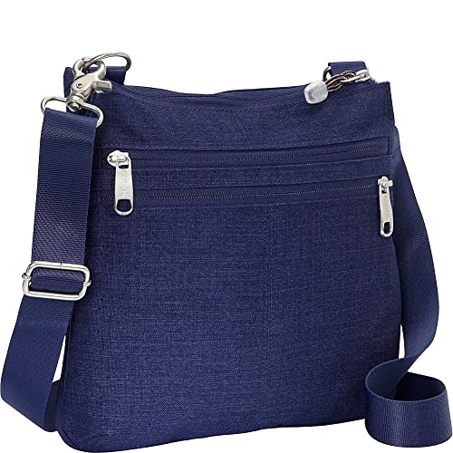 336fdafd4588 eBags Villa Crossbody 2.0 with Rfid Security - Brushed Indigo  Amazon.in   Shoes   Handbags