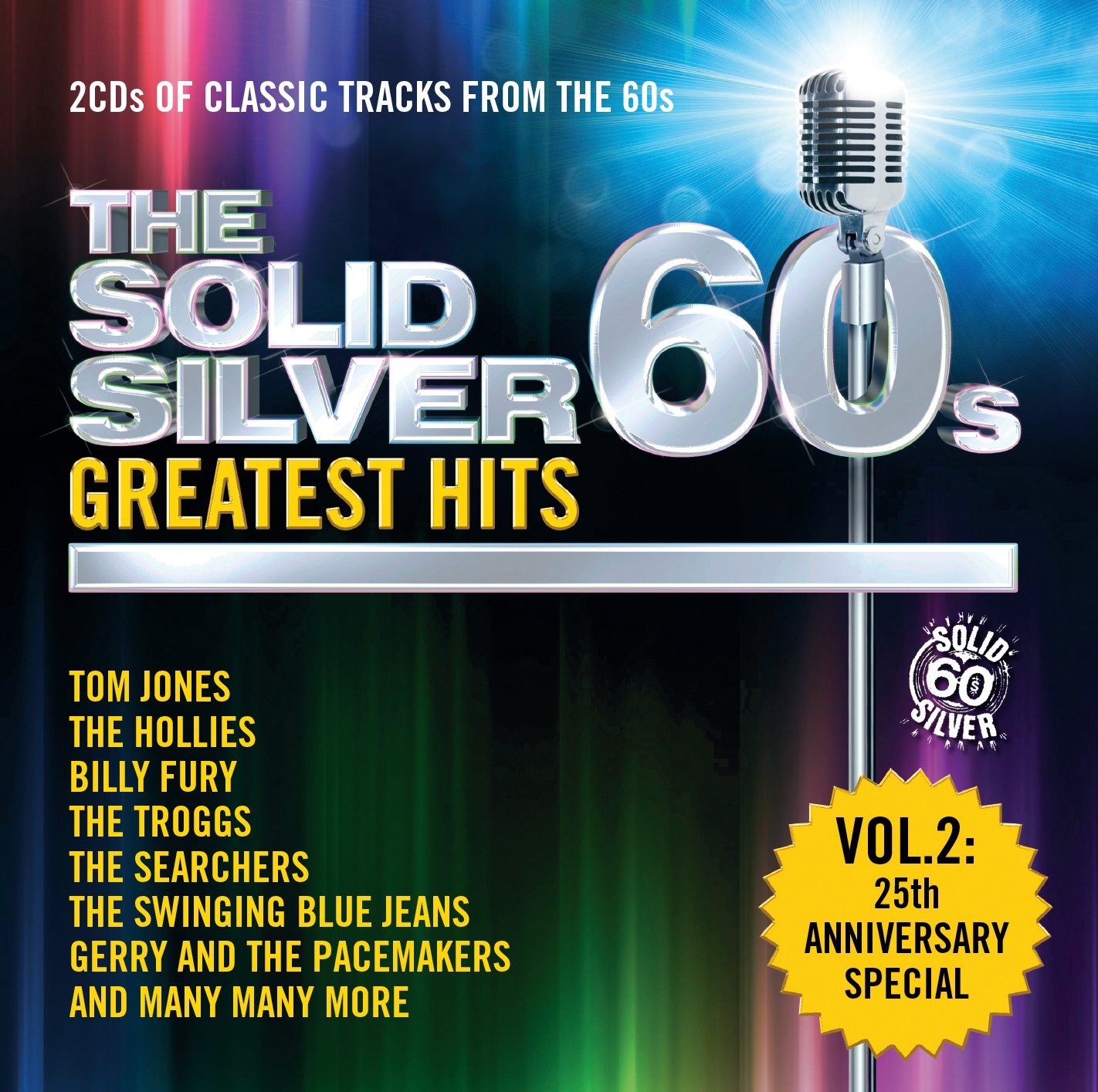 The Solid Silver 60s Greatest Hits Vol 2 Amazoncouk Music
