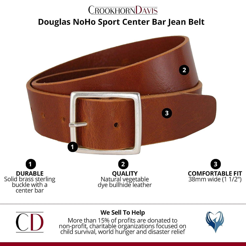 CrookhornDavis Mens Douglas NoHo Center Bar Jean Belt