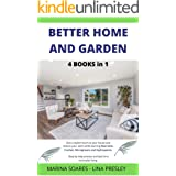 BETTER HOME AND GARDEN: Give a stylish touch to your house and restore your spirit while learning Macrame, Crochet, Microgree