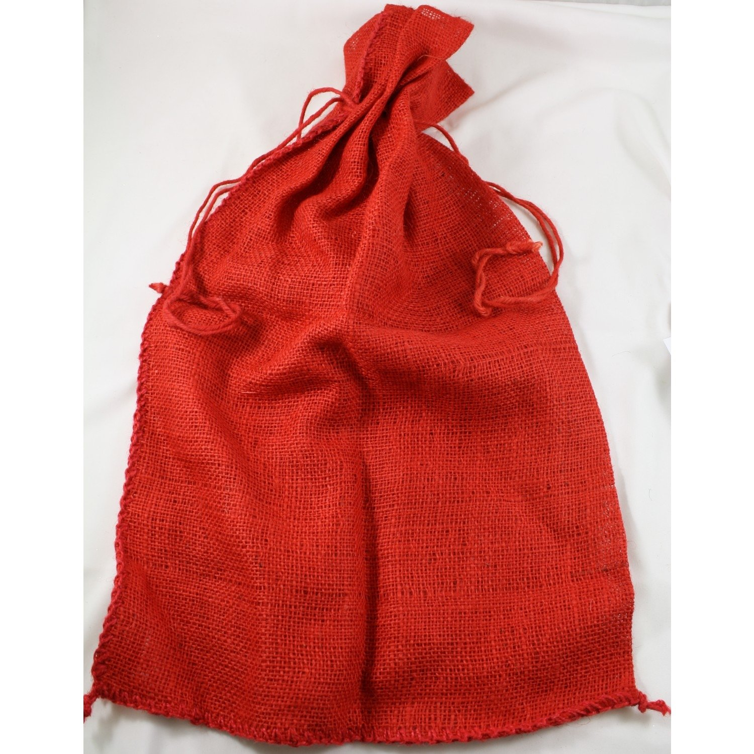 Kel-Toy Christmas and Everyday Gift Wrap & Crafting Jute Sacks in 3 Colors BUYERS' CHOICE (2, red) by Kel-Toy