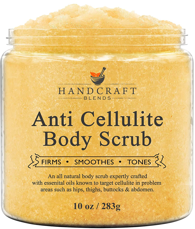 Amazon Com Handcraft Cellulite Treatment Body Scrub 100