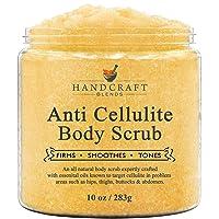 Handcraft Cellulite Treatment Body Scrub - 100% Natural - Powerful Anti Cellulite...