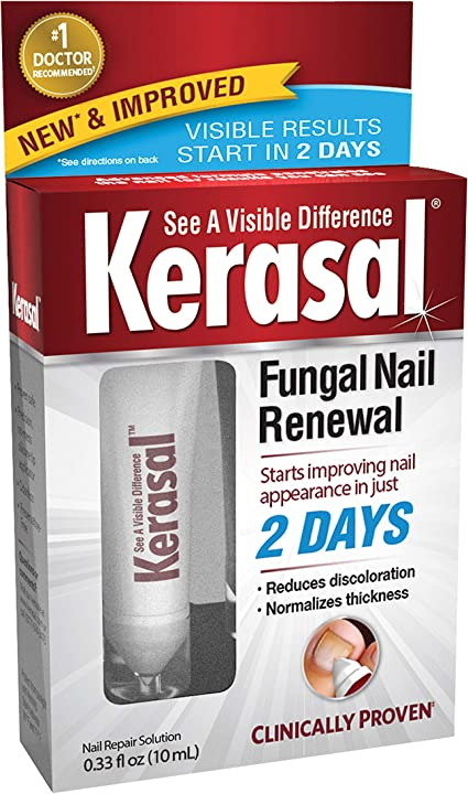 Amazon Com Kerasal Fungal Nail Renewal Treatment 10ml Restores