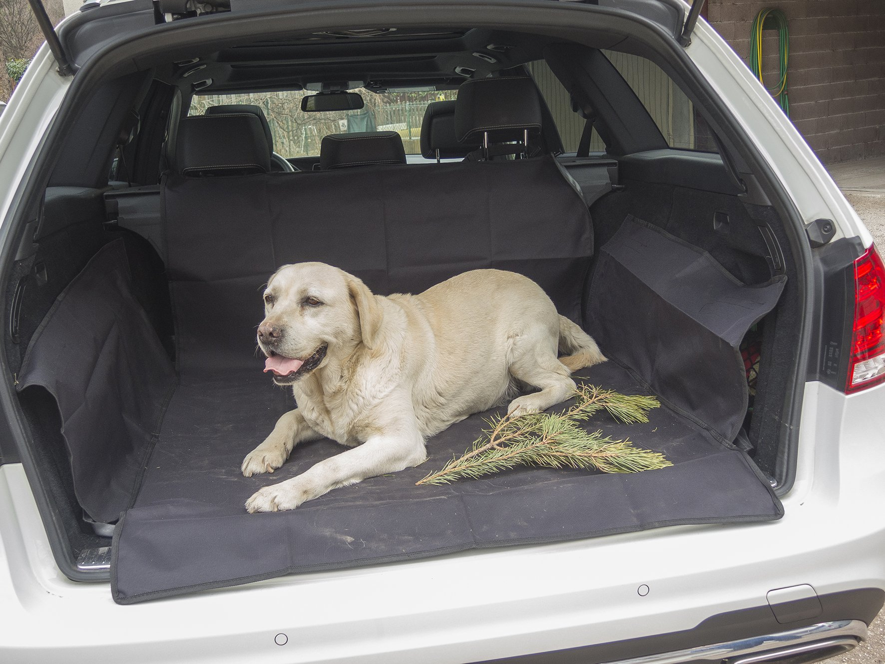 Protector antideslizante maletero coche, funda universal impermeable y lavable MY TRUNK COVER TO GO con