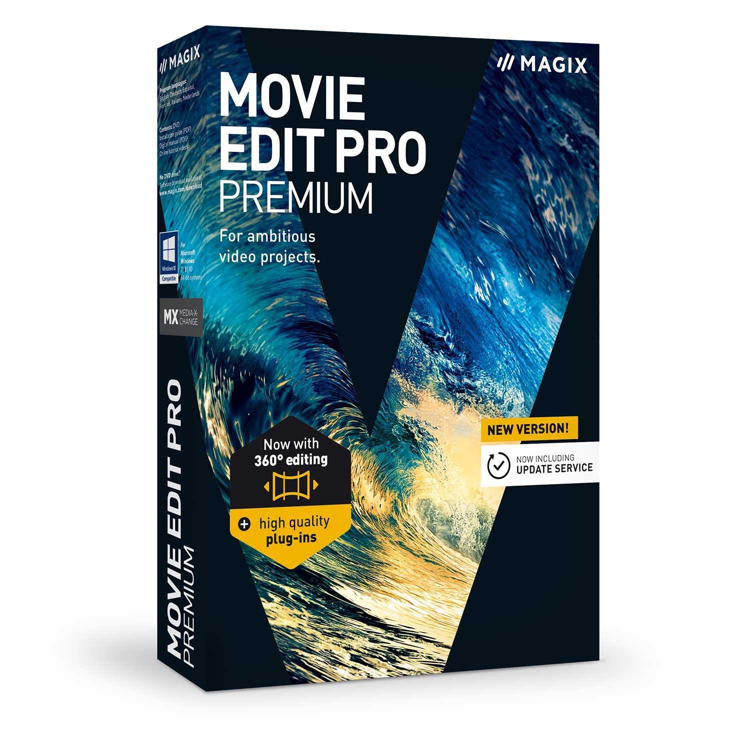 MAGIX Movie Edit Pro Premium 2018 17.0.1.128