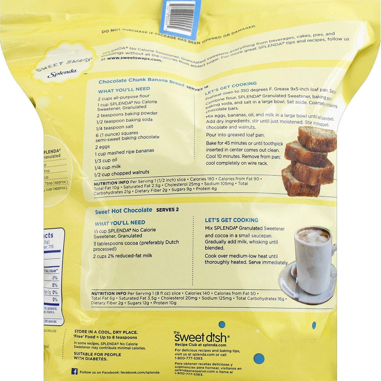 Amazon.com : Splenda No Calorie Sweetener Bulk Size 2 Pack (12.61 Oz each)  : Grocery & Gourmet Food
