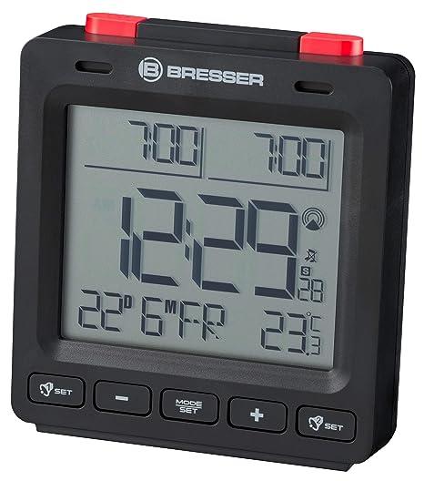 Amazon.com: Bresser Mytime Easy II Radio Alarm Clock with ...