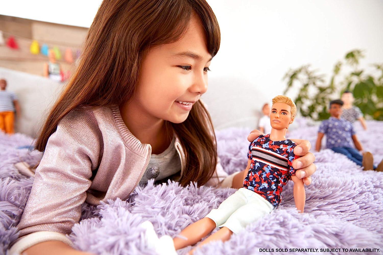 Barbie Fashionistas Ken Fashionistas Doll #118 Hyper Print Blonde Hair
