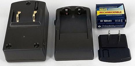 PowerSmart Cargador de batería para RAYOVAC RL223 A-1 ...