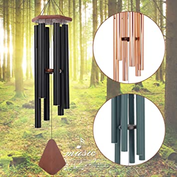 "27 Tubes Wind Chimes Large Tone Resonant Bell Outdoor Church Garden Decor 39/"" DL"