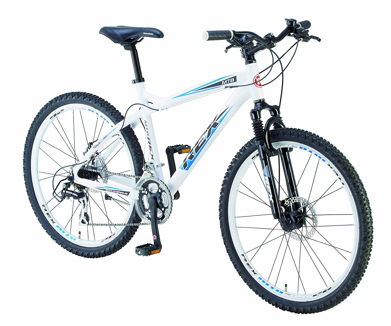 Rex Alu-MTB Fahrrad, 24 Gang, polarweiß, Rahmenhöhe: 46 cm ...