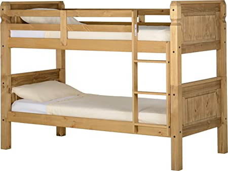 Corona 3 Bunk Bed Set In Distressed Wax Pine Amazon Co Uk Kitchen