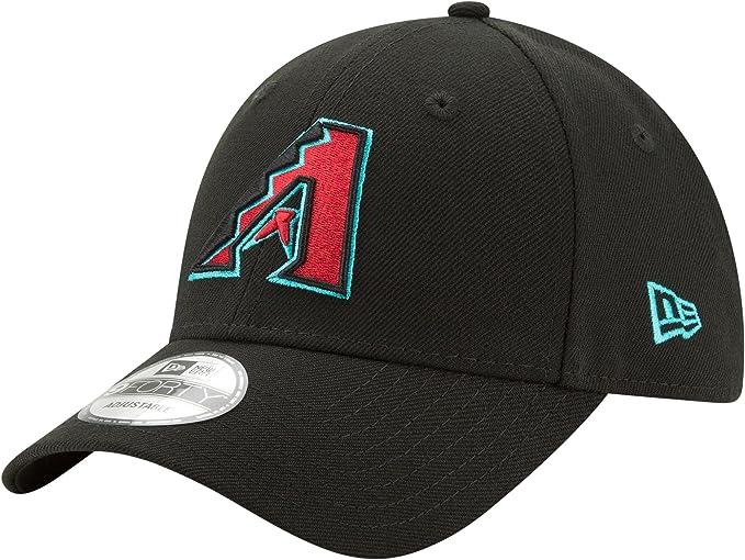 detailed look a1e0e 7e889 New Era Arizona Diamondbacks The League 9FORTY Adjustable Hat Black