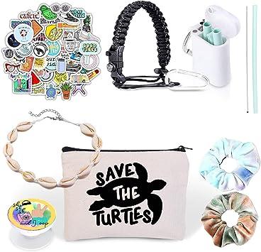 Vsco Girl Stuff – Pegatinas para petaca, paja reutilizable y kit ...