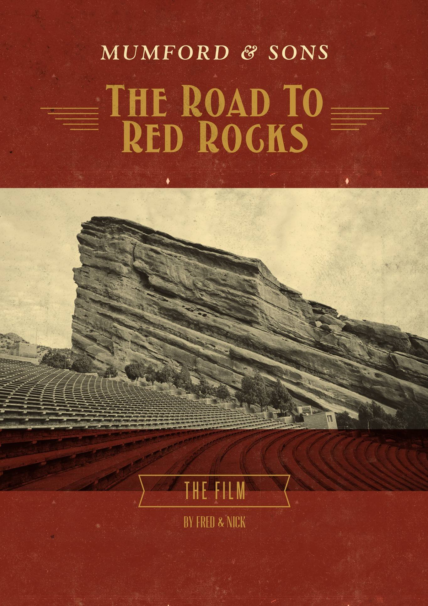 Blu-ray : Mumford & Sons - The Road To Red Rocks (Blu-ray)