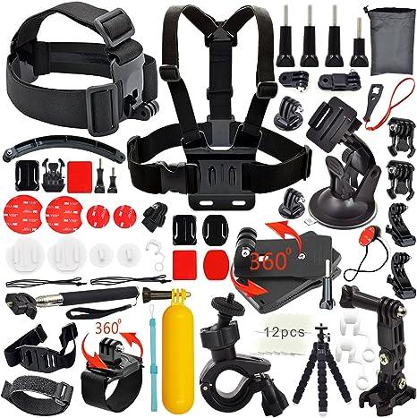 Erligpowht deportes al aire libre-Kit de accesorios para GoPro ...