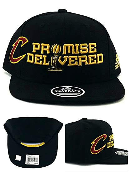 Amazon.com   Cleveland Cavaliers Promise Delivered Finals Snap Back ... 2ff670708