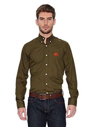 POLO CLUB Camisa Hombre New Small Horse Camisa Hombre Verde 2XL ...