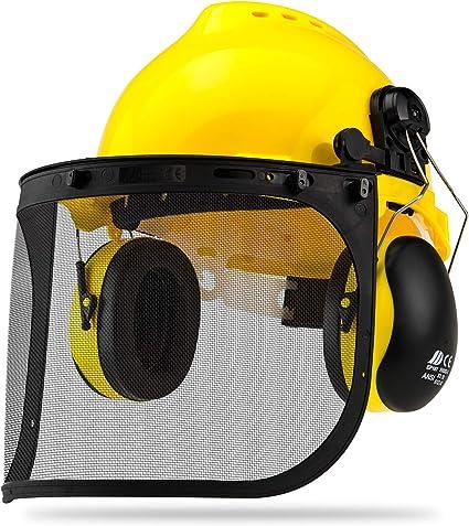 Amazon.com: Neiko 53880A Casco de seguridad 4 en 1 con ...