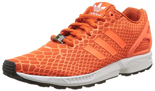 69940b6d536 adidas Original ZX Flux Techfit Tenis de los hombres-Orange-8 ...