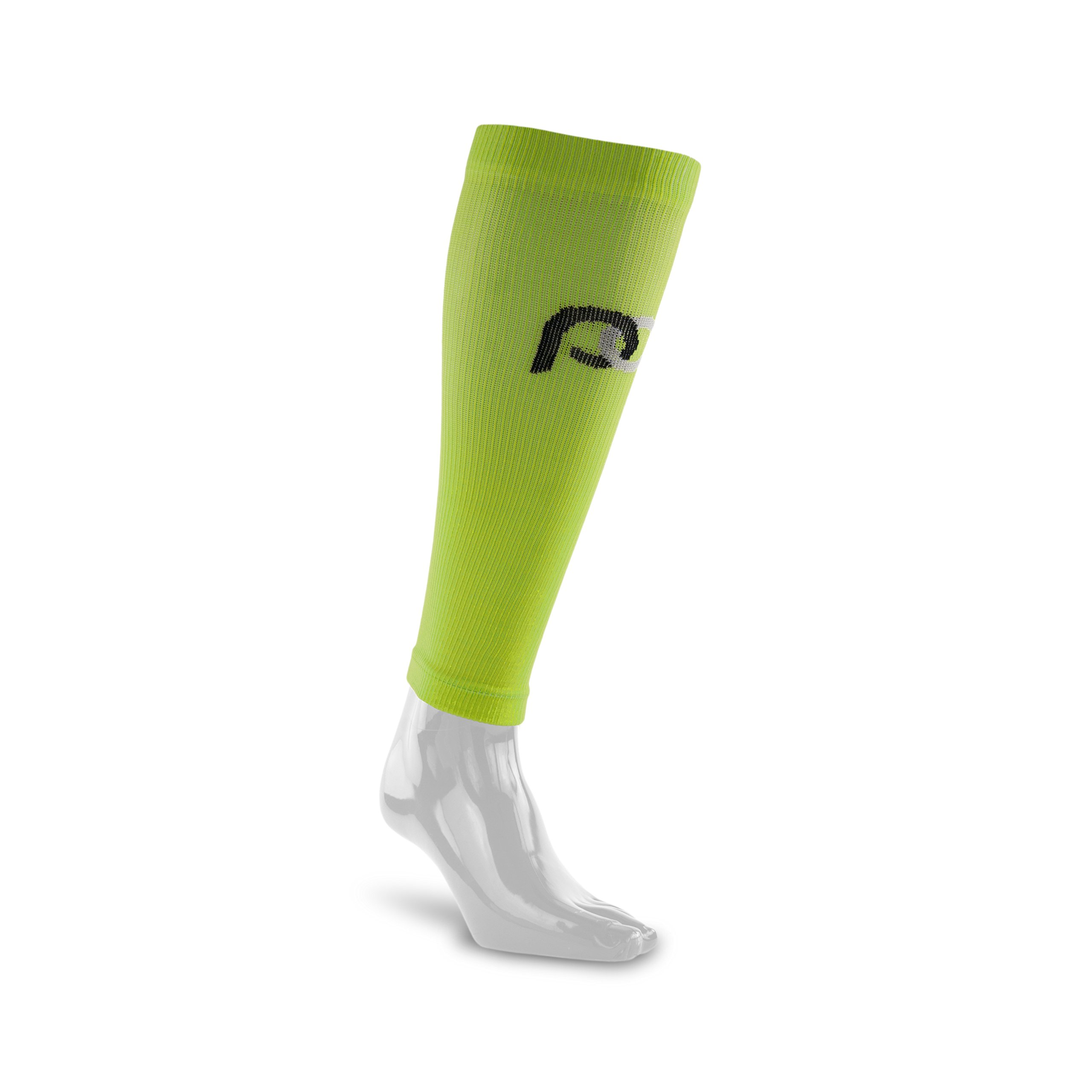 PRO Compression: Calf (Full-Length) Compression Sleeves, Lime, Large/X-Large