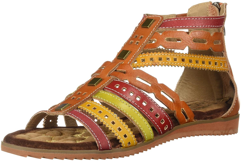 L'Artiste by Spring Step Women's Anjula Sandals B01MR7Y9BN 35 M EU Camel