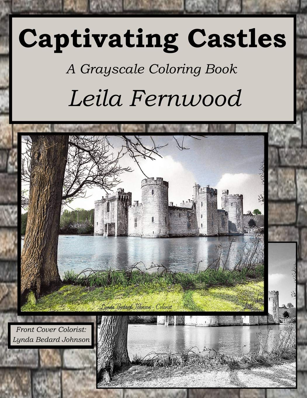 Captivating Castles Grayscale Coloring Book product image