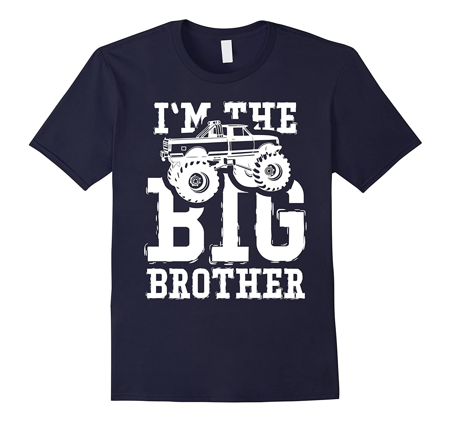 Im The Big Brother Monster Truck Youth Toddler Shirt