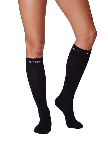 Calcetines de trabajo STOX Mujer Negro X-Large / Calcetines de compresión / ¡Previenen