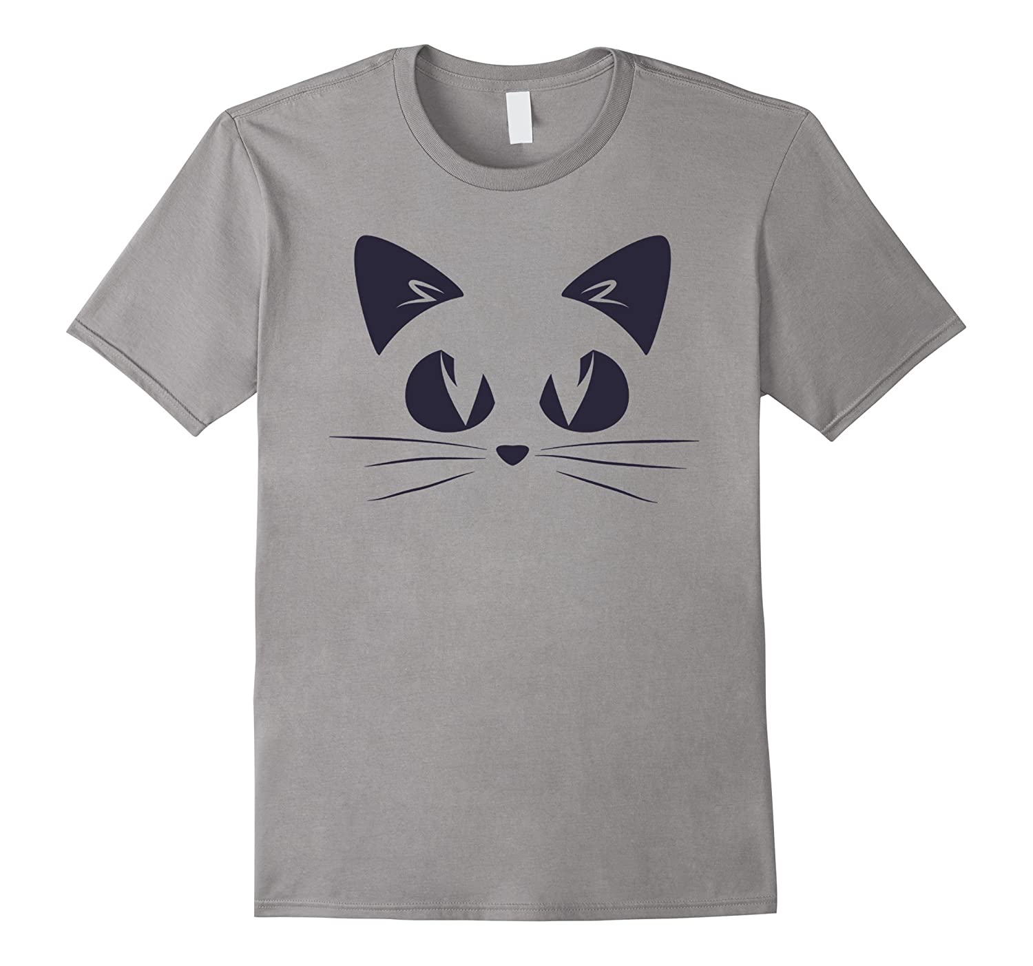 Cute Cat T-shirt Cool Funny Halloween Costume Unisex Top Tee-FL