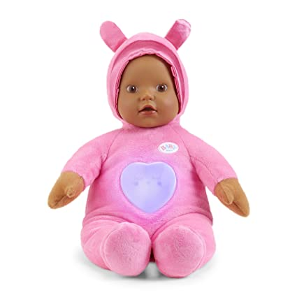 a4ec887ef68 Buy Baby Born Goodnight Lullaby Brown Eyes Realistic Baby Doll Online at  Low Prices in India - Amazon.in