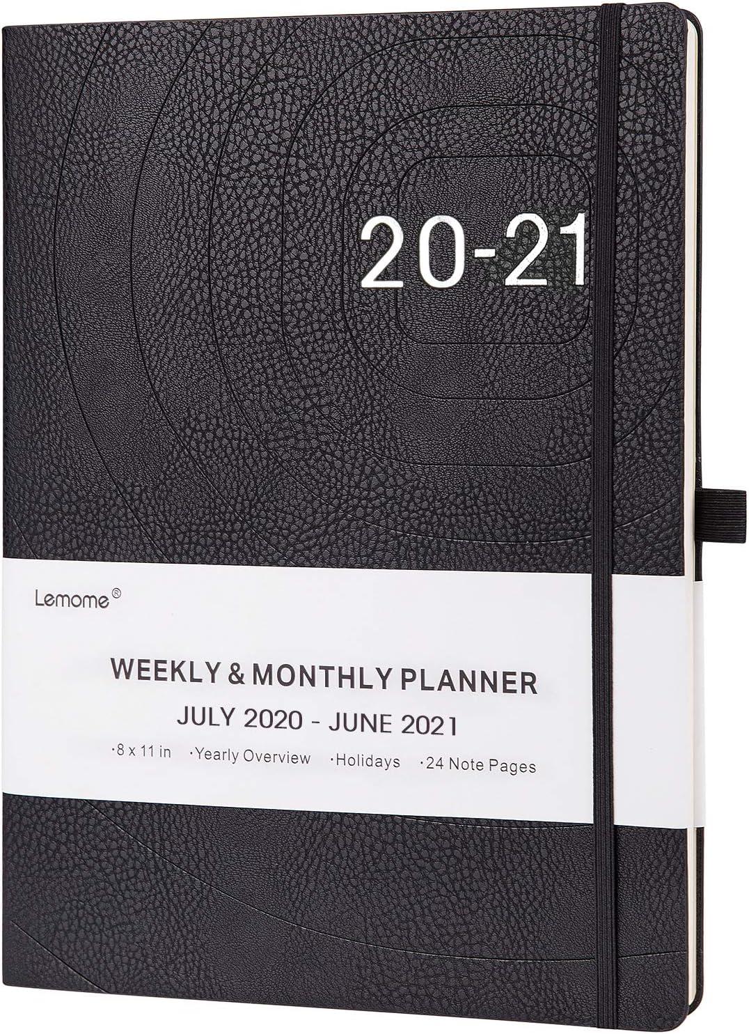 Planificador 2020-2021: planificador semanal mensual y anual