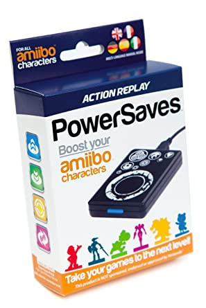 Action Replay PowerSaves for amiibo, Cheat- & Boost-Portal