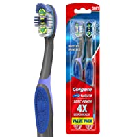 Deals on 2 Colgate 360 Total Advanced Floss-Tip Sonic Battery Power Toothbrush