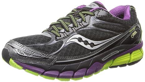 Saucony - Zapatillas de running de genérico para mujer negro negro, Negro/Púrpura,