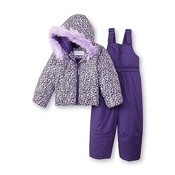 52af0e49c Amazon.com  Toughskins Girl s Snowsuit Set (24M