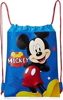 11dfa8f2aa5 Blue Mickey Mouse Drawstring Backpack - Large Drawsting Bag
