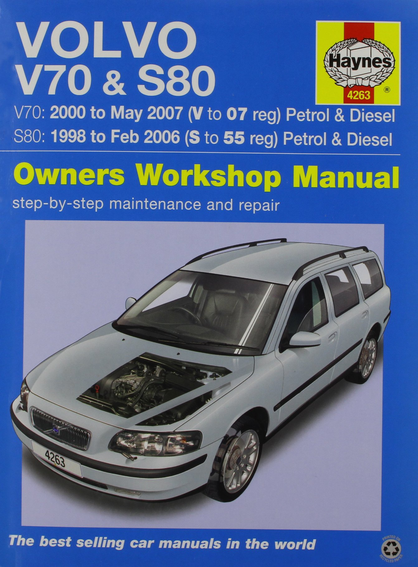 volvo v70 s80 haynes publishing 9780857339072 amazon com books rh amazon com volvo v50 technical manual volvo service manual trucks
