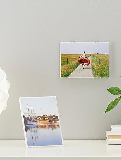 Amazon.com - Ikea White Edge Picture Photo Borderless Frames Low ...