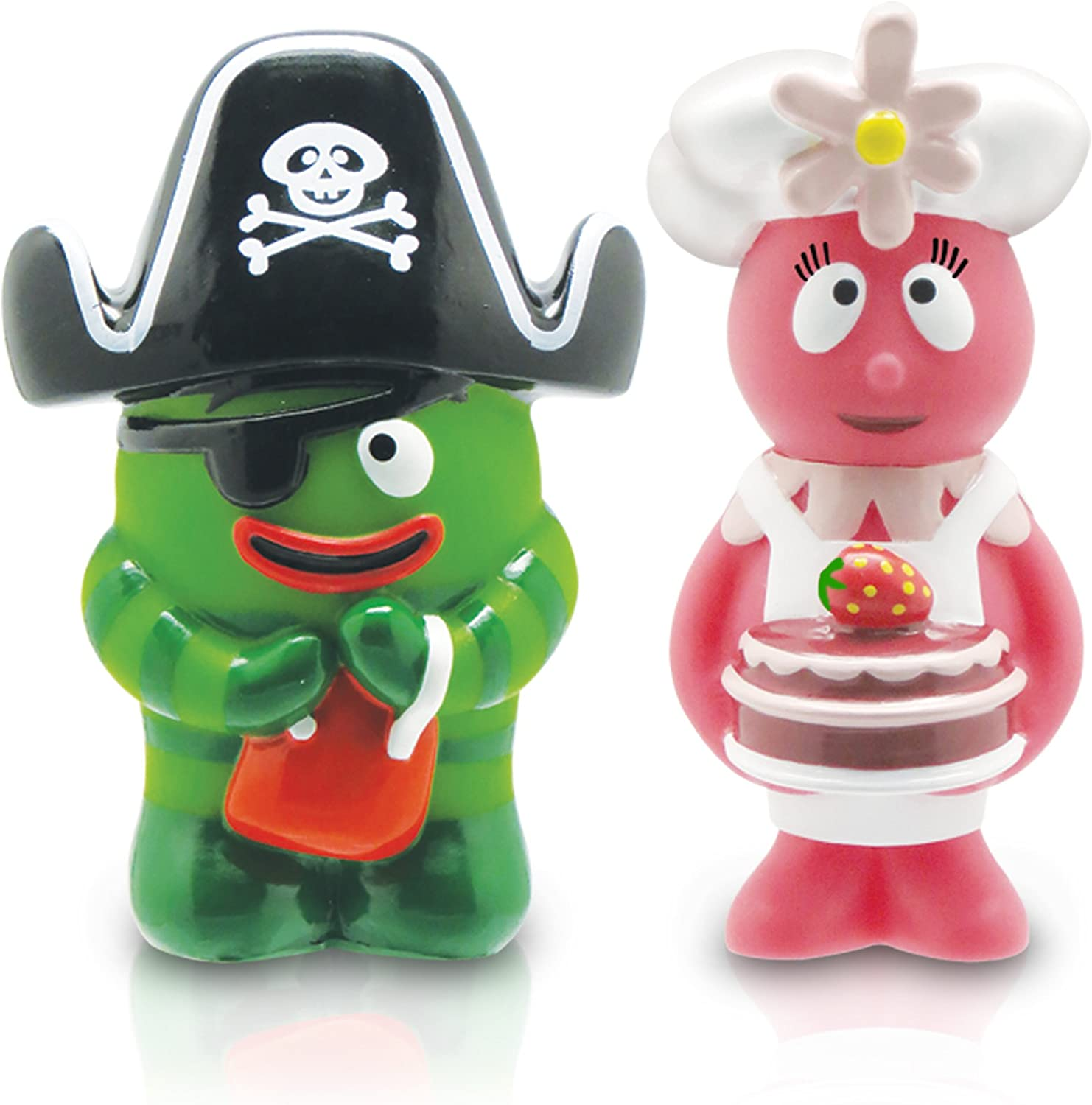 Yo Gabba Gabba 2 Collectible Figures 2-Pack Brobee and Foofa