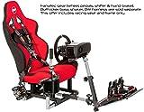 OpenWheeler GEN2 Racing Wheel Stand Cockpit Red