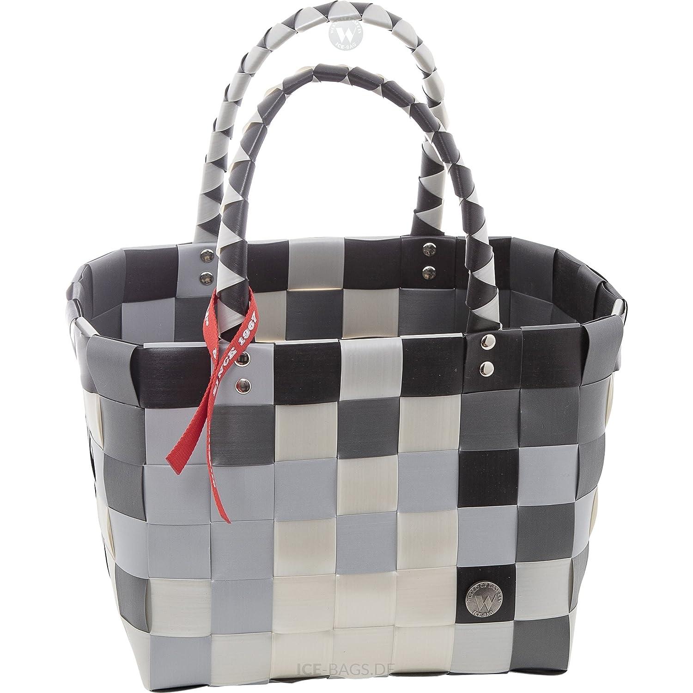 5008-52 ICE-BAG Shopper Klassiker Original Witzgall Taschen Einkaufstasche Einkaufskorb Kinderkorb- grautöne