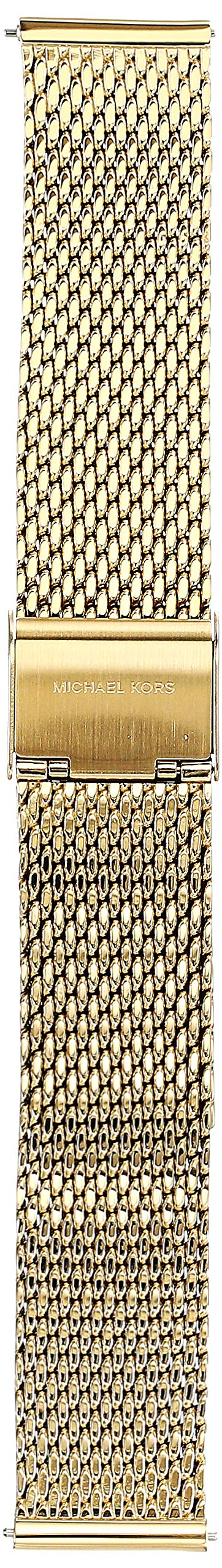 Michael Kors Stainless-Steel-Plated Gold Watch Strap, 18 (Model: MKT9074) by Michael Kors