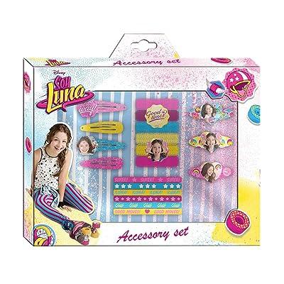 Disney - Soy Luna Set Cheveux 20 Pièces, WDSL035