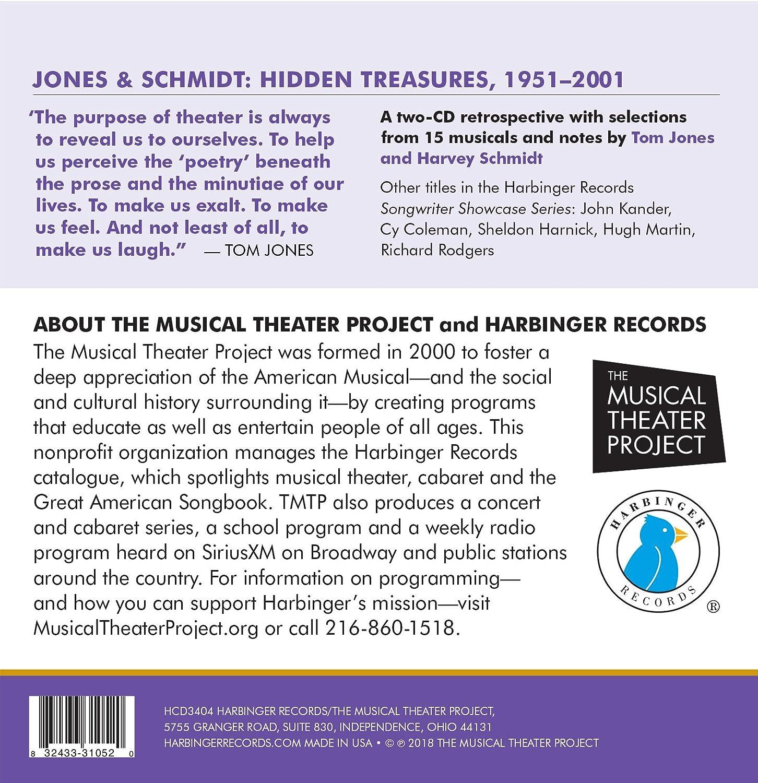 Tom Jones;Harvey Schmidt - Jones & Schmidt: Hidden Treasures, 1951 ...