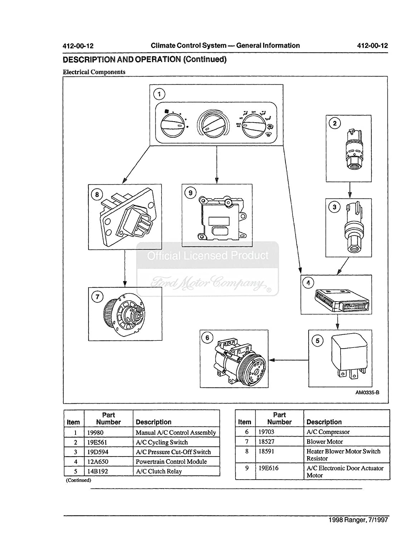 Amazon.com: bishko automotive literature 1998 Ford Ranger Shop Service  Repair Manual CD Engine Drivetrain Electrical OEM: Automotive