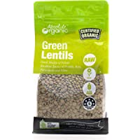 Absolute Organic Green Lentils, 400g