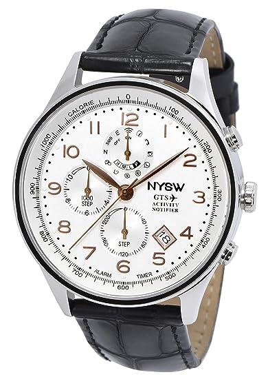 Amazon.com: NYSW - Worlds 1st Hybrid Smartwatch for Men ...